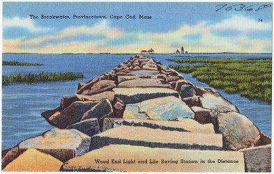 The breakwater, Provincetown