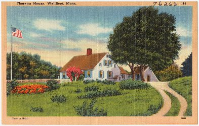 Thoreau house Wellfleet