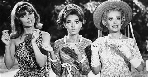 Ginger, Mary Ann and Mrs Howell