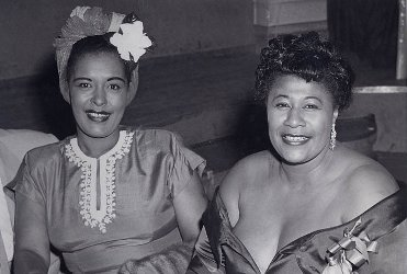 Billie Holiday and Ella Fitzgerald