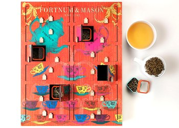 ortnum & Mason Tea advent calendar 2015