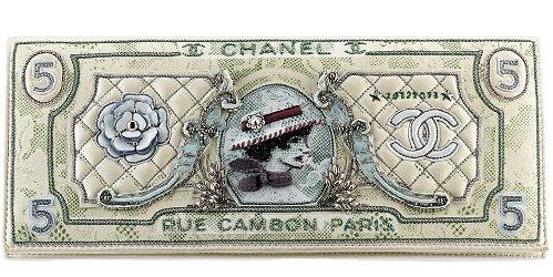 Chanel Coco money clutch