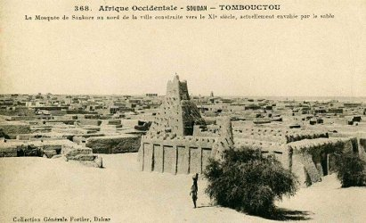 View of the Sankoré Mosque in Timbuktu, Mali