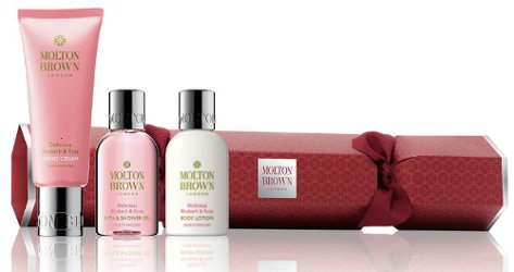 Molton Brown Delicious Rhubarb & Rose Holiday Cracker