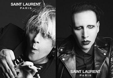 Saint Laurent rock campaign, 2013