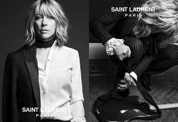 Saint Laurent rock star campaign 2013