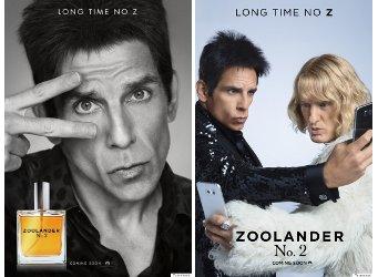 Zoolander 2 movie posters