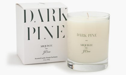 Arquiste for J. Crew Dark Pine candle