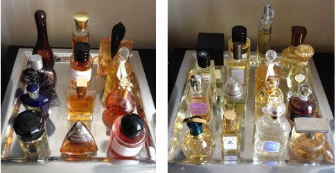 Brooke perfume collection trays 1