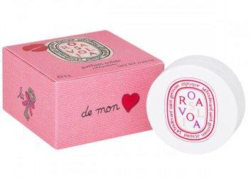 Diptyque + Olympia Le-Tan Rosaviola solid perfume