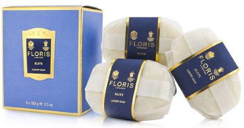 Floris Elite soaps