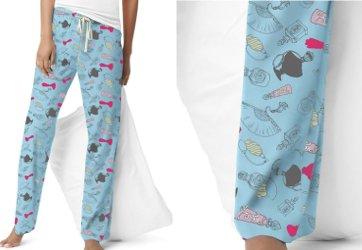 Hanes perfume bottle pajama pants