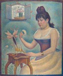 Georges Seurat, Jeune femme se poudrant