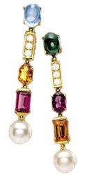 Bvlgari Allegra pendant earrings