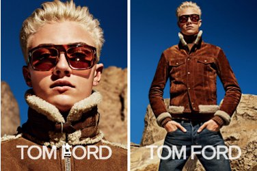 Lucky Blue for Tom Ford 2015