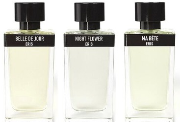 Eris Parfums Belle du Jour, Night Flower and Ma Bête