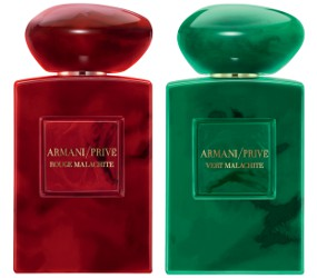Armani Privé Rouge Malachite and Vert Malachite