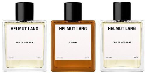 Helmut Lang Cuiron, Helmut Lang Eau de Cologne and Helmut Lang Eau de Parfum
