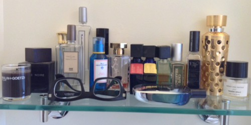 Meredith and David, perfume collection 1