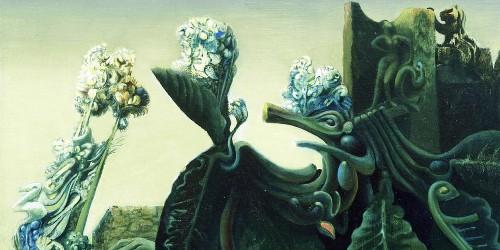 Max Ernst, The Nymph Echo, 1936, detail