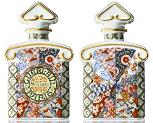 Guerlain Mitsouko bottle from the Arita Porcelain Lab