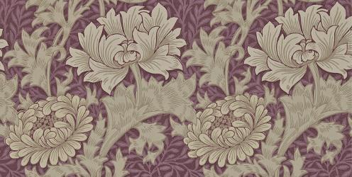 Chrysanthemum pattern by William Morris