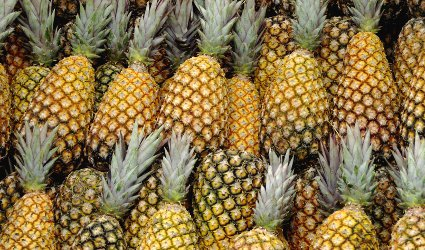 A Wall of Pineapples