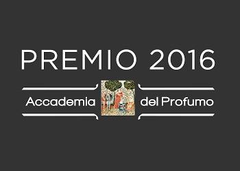 Accademia del Profumo premio 2016