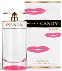Prada Candy Kiss bottle and box