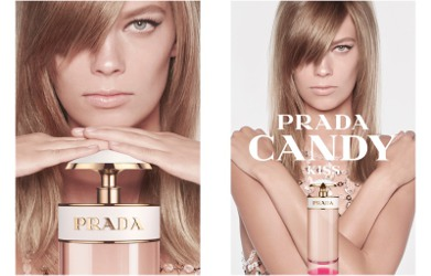 Lexi Boling for Prada Candy Kiss