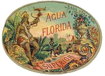 Florida Water label
