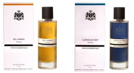 Jacques Fath Bel Ambre and Curacao Bay
