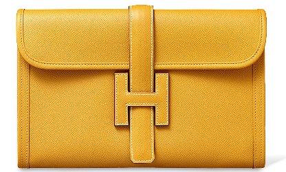 Hermès Jige clutch
