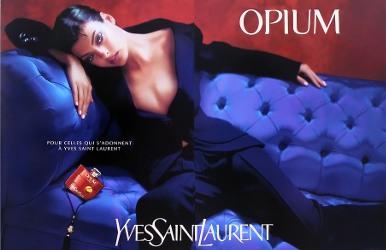 Linda Evangelista for Yves Saint Laurent Opium