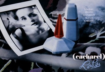 Cacharel LouLou vintage advert