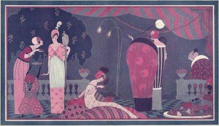 La Fête Persane, Georges Lepape