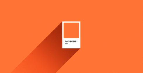 Pantone orange