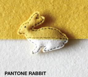 Pantone rabbit