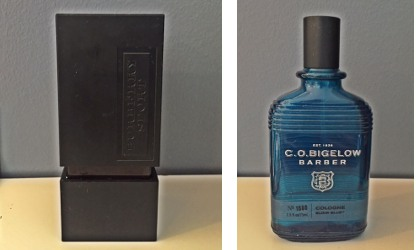 Burberry Sport and C.O. Bigelow Blue