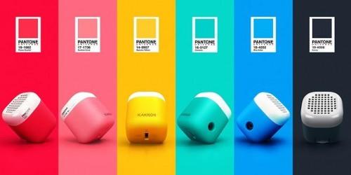 Kakkoii Micro Bluetooth Pantone Speaker