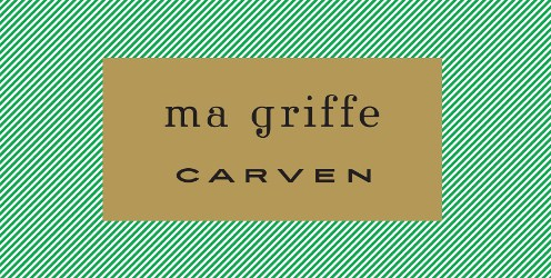 Carven Ma Griffe, outer packaging design