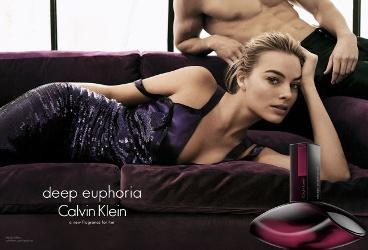 Margot Robbie for Calvin Klein Deep Euphoria