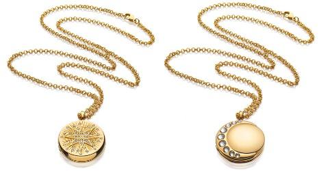 Estée Lauder + Monica Rich Kosann Modern Muse necklaces
