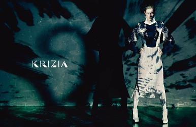 Krizia fashion campaign 2015 2016