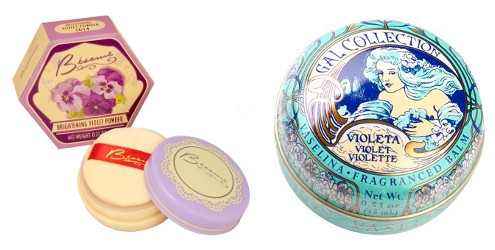 Violet beauty products, 2