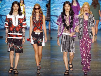 Anna Sui Spring/Summer 2016 fashion