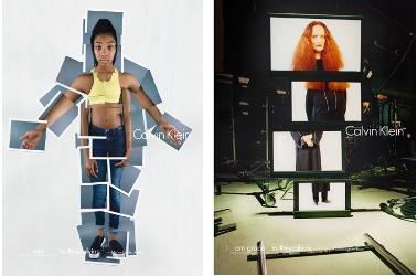 Mo'ne Davis and Grace Coddington for Calvin Klein