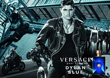 Versace Pour Homme Dylan Blue advert
