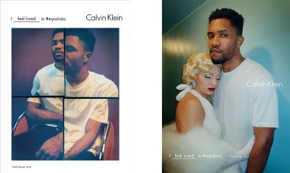 Frank Ocean for Calvin Klein