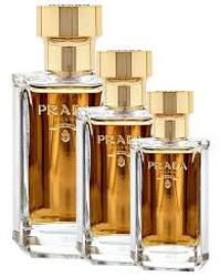 La Femme Prada, fragrance bottles